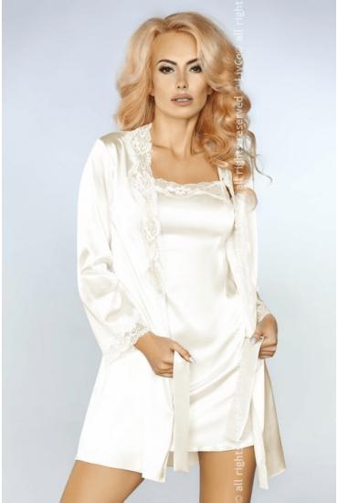 Комплект: халатик, сорочка и стринги Livia Corsetti Jacqueline LC