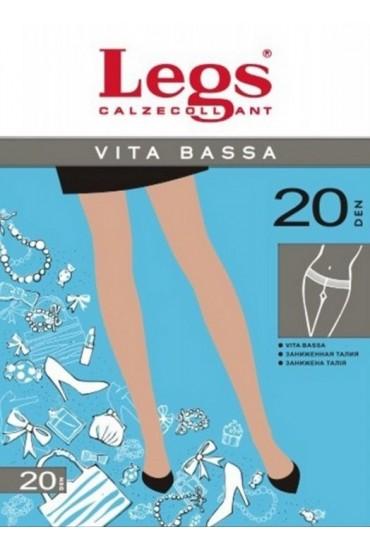 Колготки с заниженной талией Legs 210 VITA BASSA 20