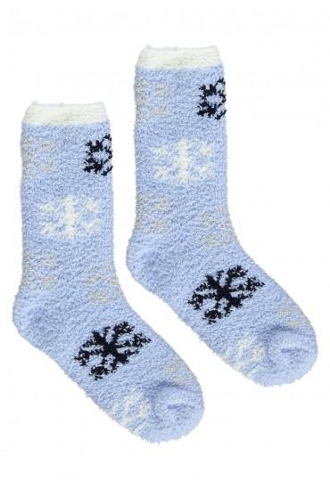 Теплые женские носки с орнаментом COOZY L50