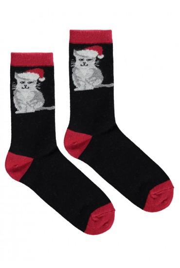 Теплые женские носки с орнаментом Marilyn ANGORA L28
