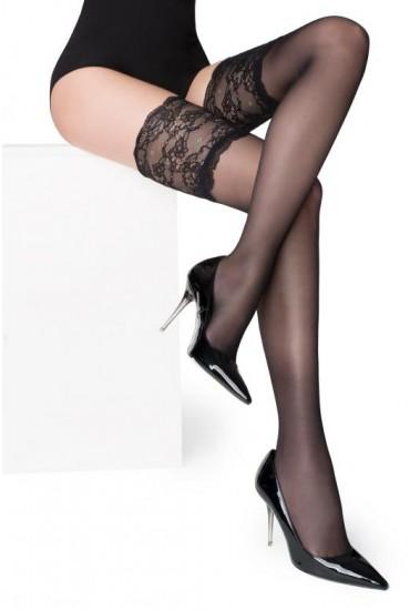 Чулки с широким кружевом Marilyn PARIS 03