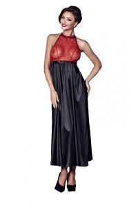 Соблазнительное платье с открытой спинкой и стринги