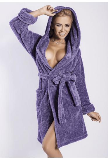 Теплый женский халат DKaren Diana DK