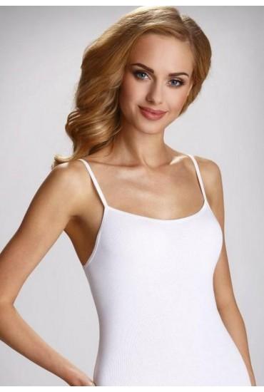 Женская майка - Последний размер! - XL, белый цвет Eldar CATHERINE