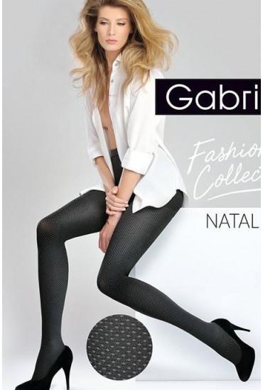 Модные колготки в горошек Natalie Gabriella
