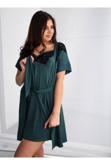 Комплект: халатик и сорочка G-НС 013