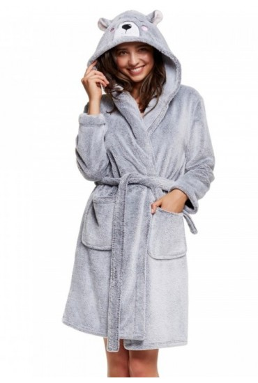 Теплый женский халат 37516 HAPPY Henderson