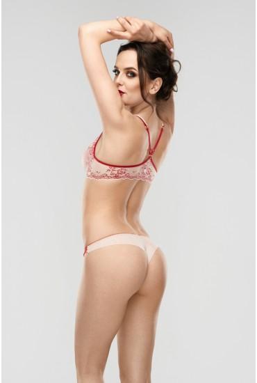 Трусики-бразилианы L'amore Ivette Red P L