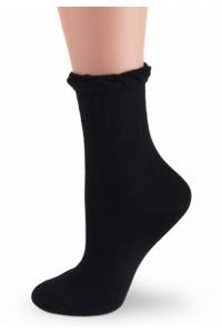 Женские носочки из хлопка - Белые, черные!
