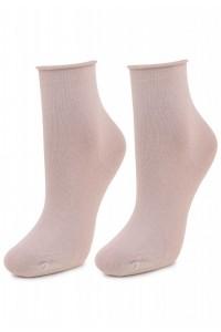 Женские носочки из хлопка - Бежевые, белые, черные!