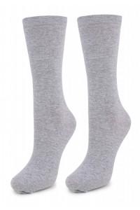 Высокие носки из хлопка - Белые, черные, серые!