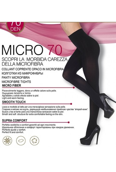 Классические колготки Micro 70 den Oro