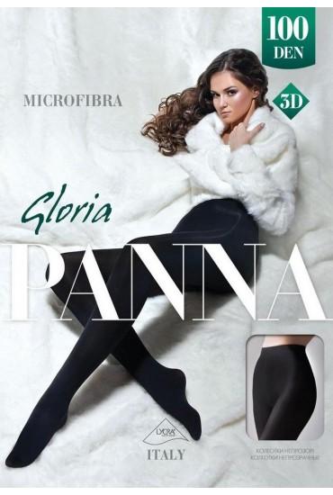 Колготки из микрофибры Gloria 100 den 3D Panna