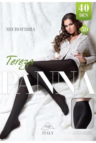 Колготки из микрофибры Tereza 40 den 3D Panna