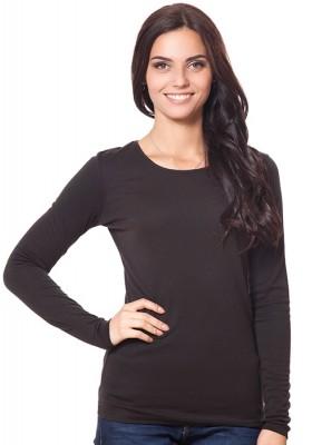 Женская футболка из хлопка и вискозы