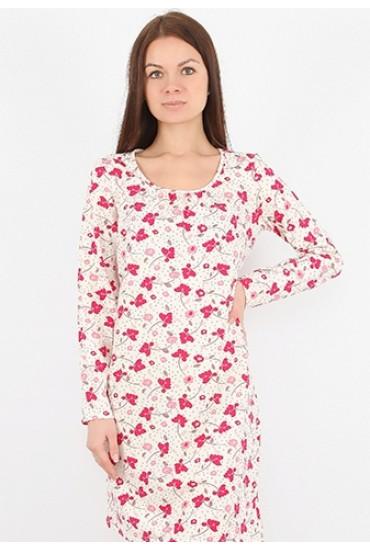 Ночная сорочка из хлопка - Большие размеры! NL 030